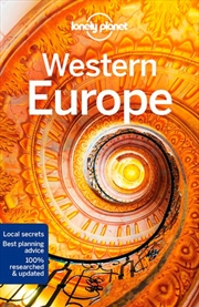 Lonely Planet Western Europe Travel Guide | Paperback Book