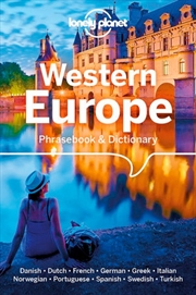 Lonely Planet Western Europe Phrasebook & Dictionary | Paperback Book
