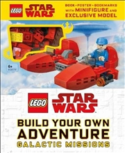 LEGO Star Wars Build Your Own Adventure Galactic Missions | Hardback Book