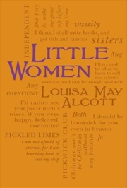 Little Women (word Cloud Classics)   Paperback Book