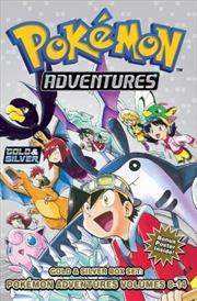 Pokémon Adventures Gold & Silver Box Set (set Includes Vol. 8-14) (pokemon) | Paperback Book