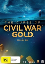 Curse Of Civil War Gold - Season 1, The | DVD