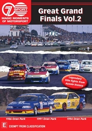 Magic Moments Of Motorsport - Great Grand Finals - Vol 2 | DVD