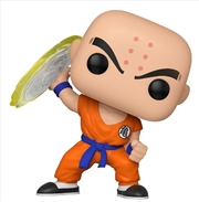 Dragon Ball - Krillin With Destructo Disc | Pop Vinyl