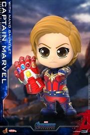 Avengers 4: Endgame - Captain Marvel Nano Gauntlet Cosbaby