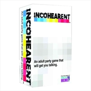 Incohearent Card Game | Merchandise