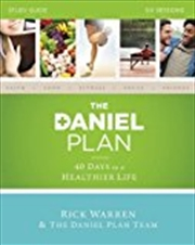 The Daniel Plan Study Guide: 40 Days To A Healthier Life | Paperback Book