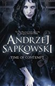 Time Of Contempt (witcher 2) | Paperback Book