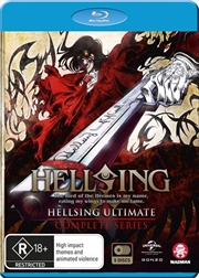 Hellsing Ultimate | Complete Series | Blu-ray