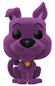 Scooby Doo - Scooby Purple Flocked US Exclusive Pop! Vinyl [RS]