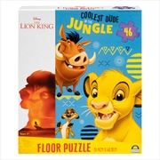 Lion King Floor Puzzle 46pc