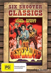 Desperadoes Six Shooter Classics, The | DVD