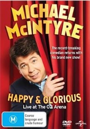 Michael McIntyre - Happy and Glorious | DVD