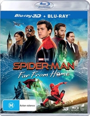 Spider-Man - Far From Home - Limited Edition | 3D + 2D Blu-ray  (BONUS ART CARD)