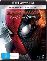 Spider-Man - Far From Home | Blu-ray + UHD (BONUS ART CARD)
