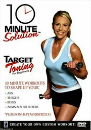 10 Minute Solution: Target Toning For Beginners | DVD