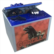 Coin Stealing Godzilla Money Bank