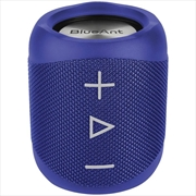 BlueAnt X1 Portable Bluetooth Speaker - Blue | Accessories