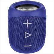 BlueAnt X1 Portable Bluetooth Speaker - Blue