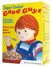 Child's Play - Good Guys Cereal Box