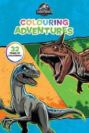 Jurassic World: Colouring Adventures | Paperback Book