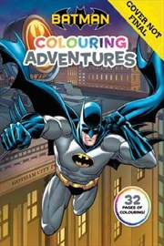 Batman: Colouring Adventures | Paperback Book