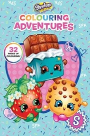 Shopkins: Colouring Adventures | Paperback Book