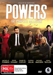 Powers | Complete Collection | DVD