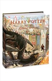 Harry Potter and the Goblet of Fire Illustrated Edition | Hardback Book