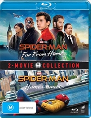 Spider-Man - Far From Home / Spider-Man - Homecoming | 2 Movie Franchise Pack (BONUS ART CARD)