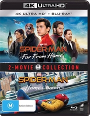 Spider-Man - Far From Home / Spider-Man - Homecoming | Blu-ray + UHD  (BONUS ART CARD)
