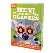 Hey! Those Are My Glasses Card Game