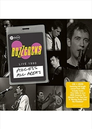 Access All Areas Buzzcocks Live | CD