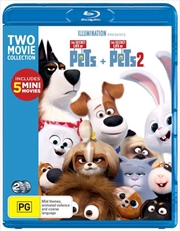 Secret Life Of Pets / The Secret Life Of Pets 2, The | Blu-ray