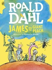 James and the Giant Peach (Colour Edition) | Paperback Book