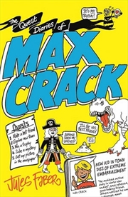 Quest Diaries Of Max Crack | Paperback Book