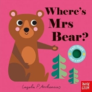 Where's Mrs Bear? (Felt Flaps) | Hardback Book
