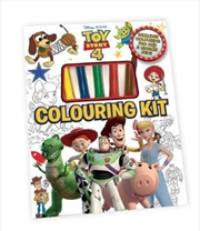 Toy Story 4: Colouring Kit | Hardback Book