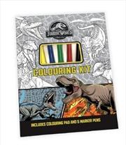 Jurassic World: Colouring Kit