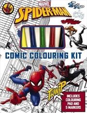 Spider Man: Comic Colouring Kit