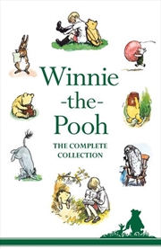 Winnie-The-Pooh Complete Collection 6-Book Slipcase | Hardback Book