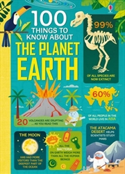 100 Things to Know About The Planet Earth | Hardback Book