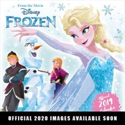 Disney Frozen 2 2020 Calendar - Official Square Wall Format Calendar