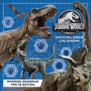 Jurassic World 2020 Calendar - Official Square Wall Format Calendar