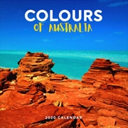 Colours of Australia - 2020 Wall Calendar