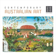 Contemp Australian Art - 2020 Square Wall Calendar