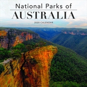 National Parks Of Australia - 2020 Square Wall Calendar