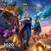 Doctor Who - 2020 Square Wall Calendar