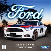 Classic Ford Cars - 2020 Square Wall Calendar