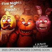 Five Nights At Freddy's 2020 Calendar - Official Square Wall Format Calendar | Merchandise